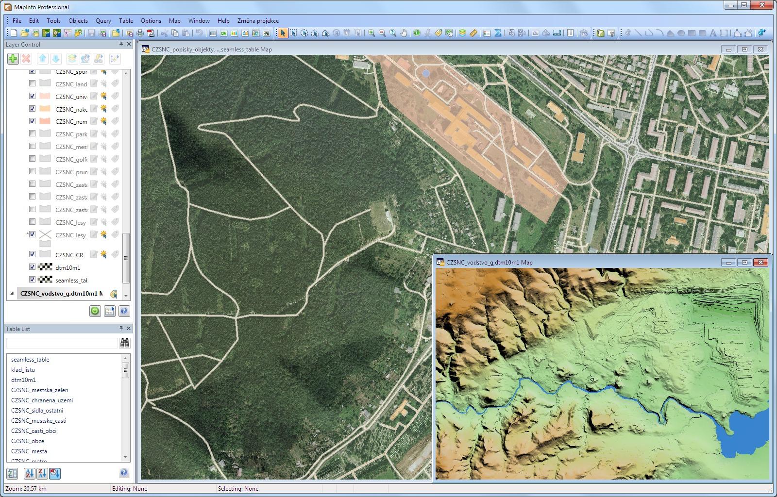 CSmap | MapInfo Pro